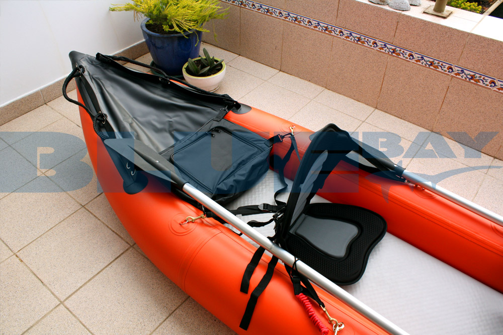 bolso de popa kayak inflable